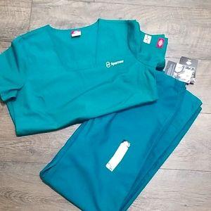 NWT Sparrow Hospital RN scrubs